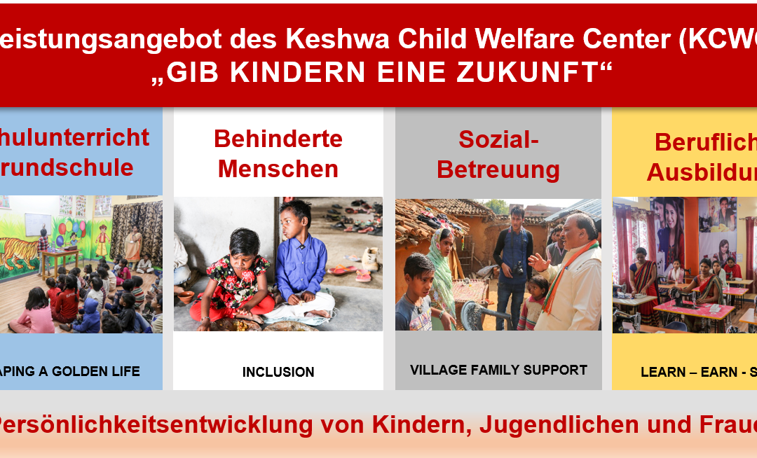 Gesamtprogramm Keshwa Child Welfare Center