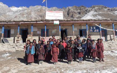 Zweite Winterschule in Nepal